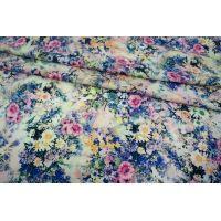 ОТРЕЗ 1,2 М Штапель цветы UAE-Н5  27121719-1