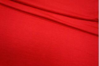 Трикотаж вискозный насыщенный красный UAE-A6 27121724