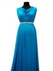 Трикотаж вискозный яркий голубой UAE-A4 27121725
