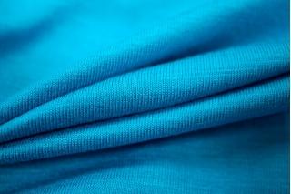 Трикотаж вискозный яркий голубой UAE-A6 27121725