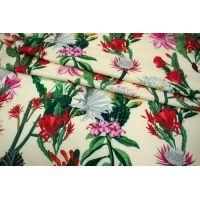 Костюмно-плательная ткань кактусы UAE-B7 27121732