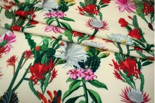 Костюмно-плательная ткань кактусы UAE-Н7 27121732