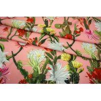 Костюмно-плательная ткань кактусы UAE-H4 27121733