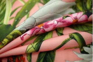 Костюмно-плательная ткань кактусы UAE-Н7 27121733