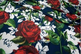 Трикотаж фактурный розы UAE-А7 27121748