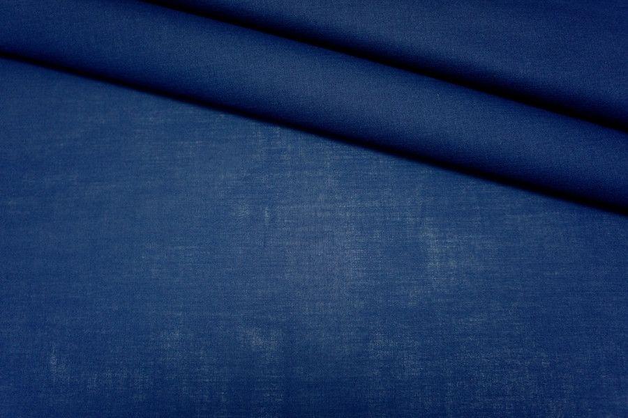 Батист синий хлопок PRT 2031713