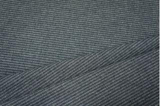 Костюмная шерсть серая в полоску PRT-L4  30101711