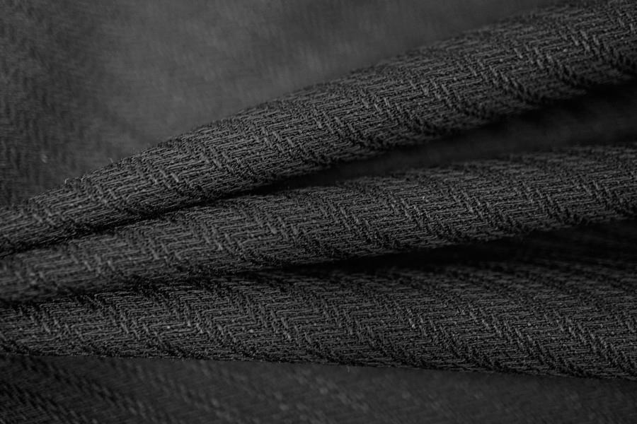 Шерсть плательная черная PRT-L2 30101712