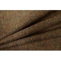 Твид-стрейч шерстяной коричневый PRT-R3 30101702