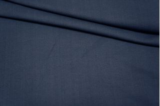 Костюмно-плательная вискоза темно-синяя PRT1 25071701