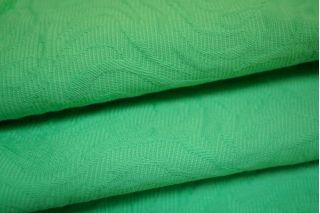 Жаккард-стрейч хлопковый салатовый LT1-J4 14111607