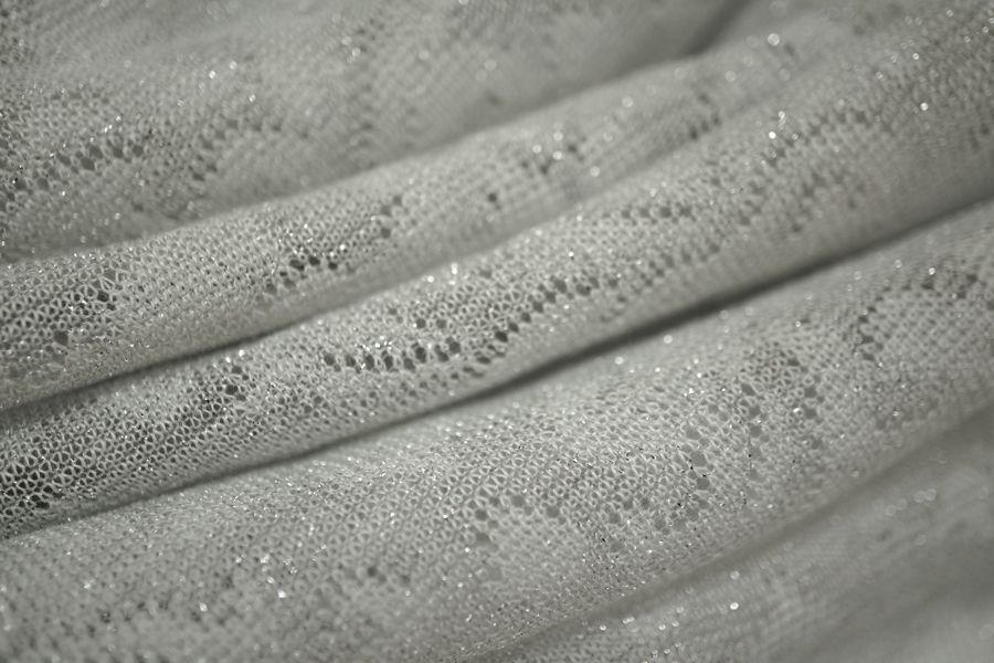 Трикотаж светло-серый с люрексом MX-I5-013  2311715