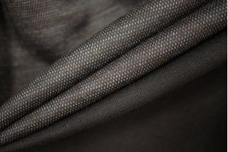 ОТРЕЗ 2,05 М Трикотаж двусторонний вискозный серый в галочку PRT-D3 10081927-4