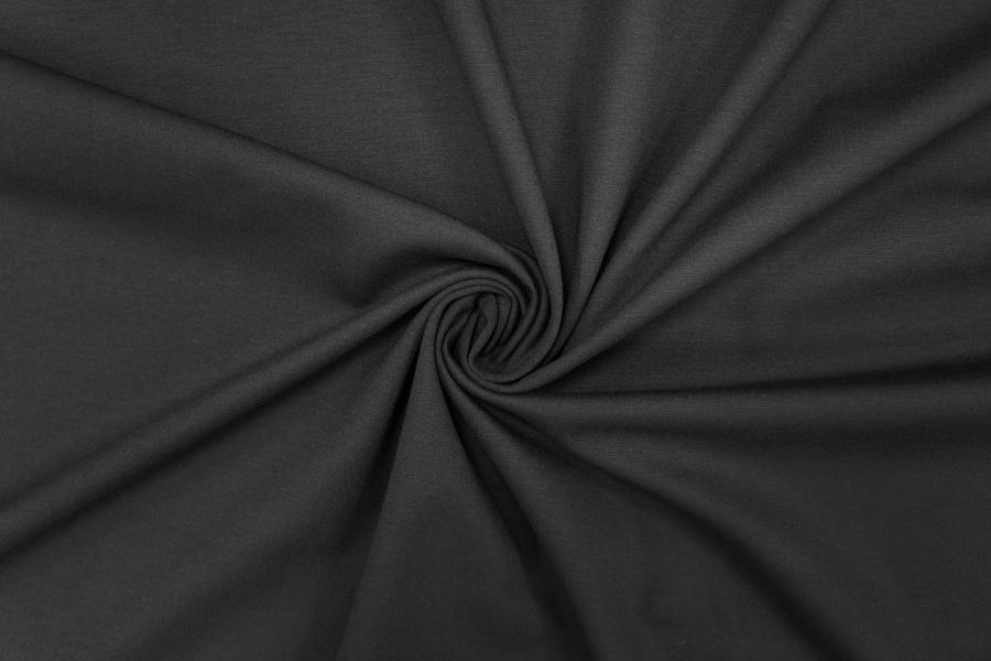 Джерси вискозный черный PRT-D6 10081932
