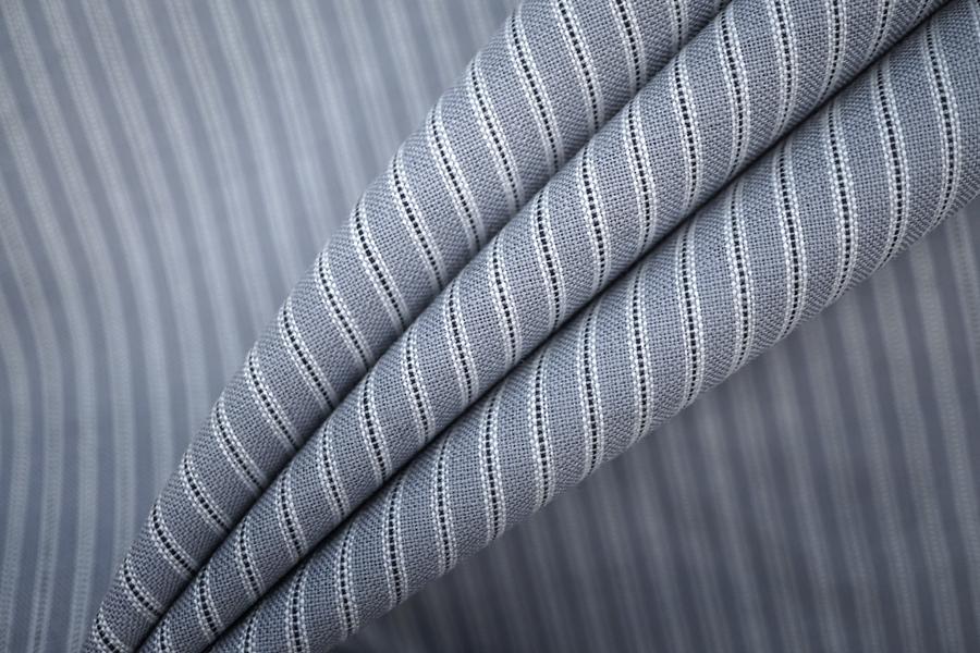 Плательная шерсть серая в полоску PRT-D2 22081912