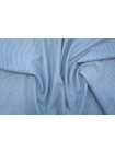 Тонкая костюмная шерсть в полоску голубая PRT-H2 22081942