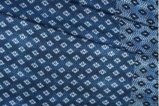 Тонкий плательный хлопок синий PRT-H5 23081913