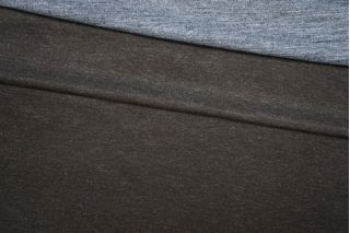 Трикотаж шерстяной двусторонний серо-коричневый PRT-D2 27081902