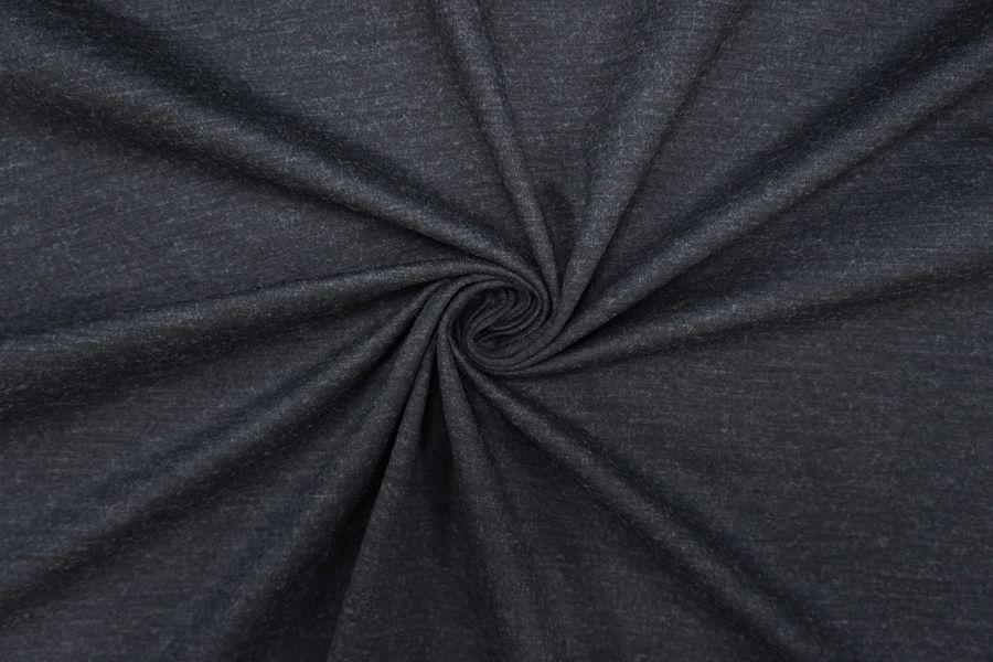 Джерси шерстяной темно-серый PRT-D6 27081903