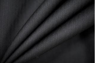 Плательная шерсть с шелком темно-синяя  PRT-G5 14111920