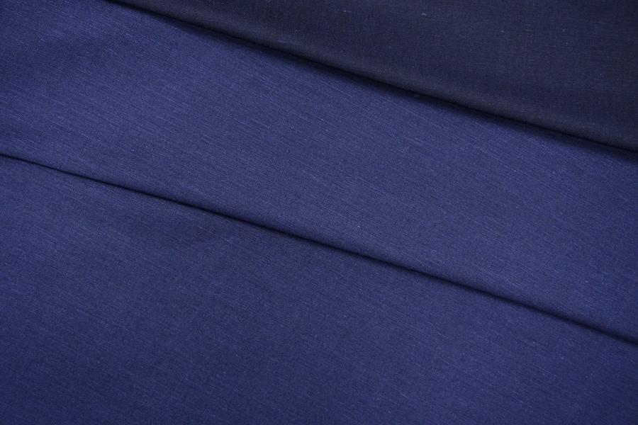 ОТРЕЗ 2 М Плательный хлопок темно-синий PRT-K4 16111901-1