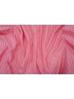 Плательный хлопок со льном розовый в полоску PRT-C2 28111905