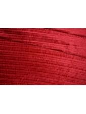 Бархат плиссе красная клюква PRT-F2 28111912