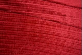 Бархат плиссе красная клюква PRT-A2 28111912