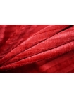 Бархат плиссе красная клюква PRT-A3 28111912