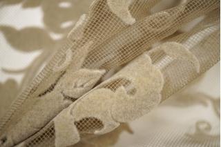 Сетка с флоком цветы PRT-C3 28111913