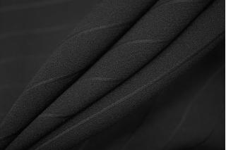 Вискоза черная в полоску PRT-E2 28111935