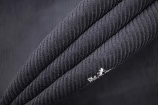 Вельвет хлопковый серый в снежинку PRT-E2 28111937