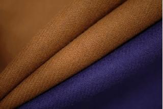 Кашемир сине-коричневый дабл PRT F5 04111921