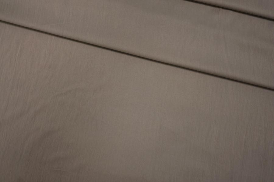 Плащевка Moncler серо-кофейная PRT- I4  05111902