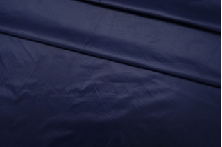 Плащевка Moncler темно-синяя PRT I4 05111904