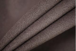 Велюр пальтовый с кашемиром темно-кофейный PRT I6 05111919