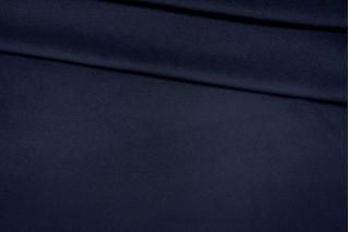 Велюр пальтовый с кашемиром темно-синий PRT I6 05111920