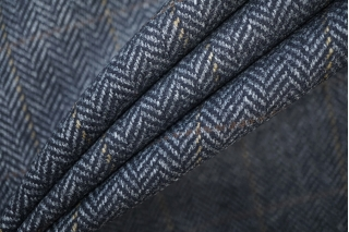 Твид елочка черно-серый PRT-E5 01091909