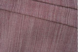 ОТРЕЗ 1,3 М Твид шанель шерстяной бордовый PRT-E4 22081930-2