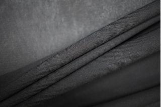 Тонкий трикотаж подкладочный черный PRT-W5 22081934
