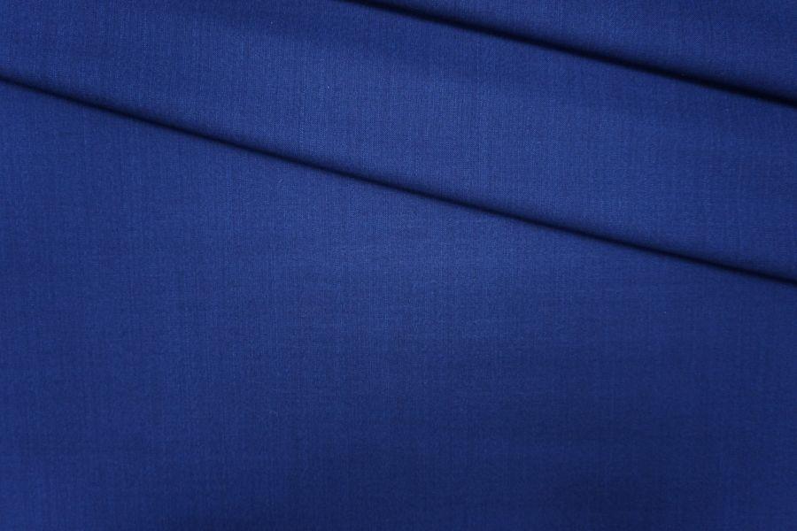 ОТРЕЗ 1,45 М Шерсть с шелком темно-синяя PRT-(40)- 23081930-3