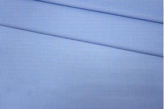 Рубашечный хлопок в клетку голубой PRT-B2 30081906
