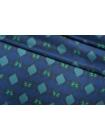 Блузочный шелковый сатин бабочки PRT-AA4 01121901