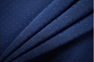 Крепдешин темно-синий плюмети PRT-BB4 05121904
