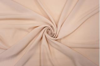 Креп шелковый светлый нежный бежево-розовый PRT-С5 05121909