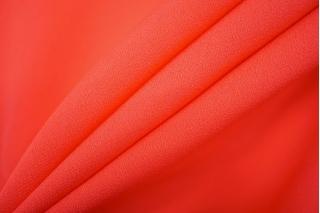 Креп шелковый насыщенный коралл PRT-Н3 05121913