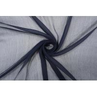 Шифон шелковый-креш темно-синий  PRT-С3 05121919