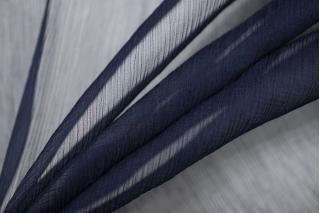 Шифон шелковый-креш темно-синий  PRT-H2 05121919