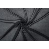 Шифон шелковый-креш черный PRT-H2 05121920