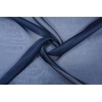 Шелковая органза темно-синяя PRT-Н3 05121924